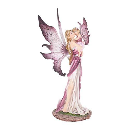Nemesis Now - Statuetta Precious Moments, 32 cm, 19,5 cm, Colore: Rosa
