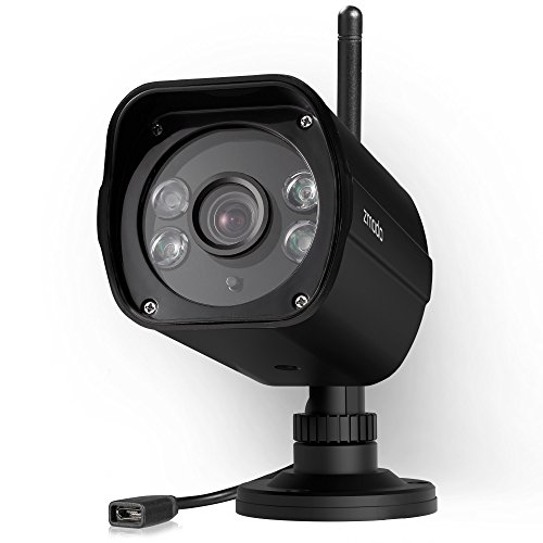 Zmodo 1080p Outdoor Weatherproof Wi-Fi HD Security Camera with 98' Night Vision, Dual Band 5GHz/2.4GHz