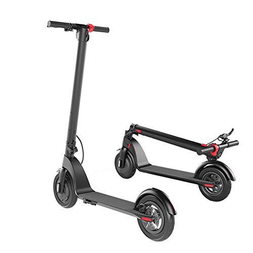 Yauuya - Patinete eléctrico, plegable de 8,5 pulgadas / 10 pulgadas, diseño fácil de plegar y transportar, motorizado para Pendolarismo Ultraligero Carga 120 kg