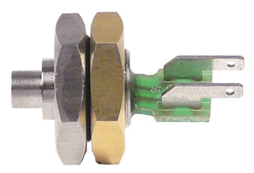 Bonamat Temperaturfühler für B20HW, B10HW, B5HW, RL212, RL222, RL211 PTC Fühler ø 6,2x7mm 2kOhm Anschluss Flachstecker 2,8mm