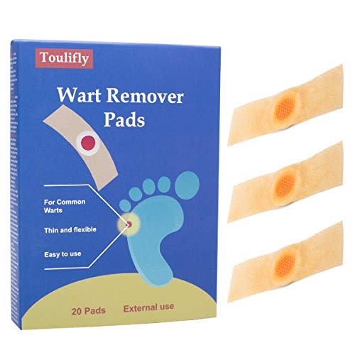 Cherioll Wart Remover,Corn Remover,Foot Corn Remover Pads,Plantar Wart Removal, Corn Callus Remover, Penetrates and Removes Common and Plantar Warts, Callus,Stops Wart Regrowth