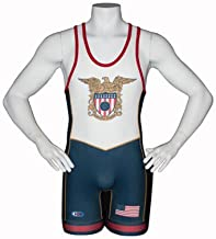 Cliff Keen USA Wrestling Singlet NAVY Sublimated Folkstyle Freestyle Greco S79CKEGL