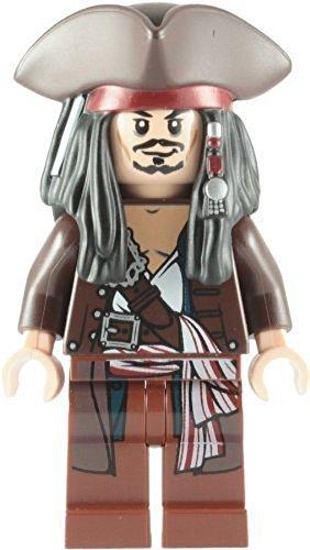 LEGO Piratas Del Caribe: Capitán Jack Sparrow Con Tricorne Minifigura