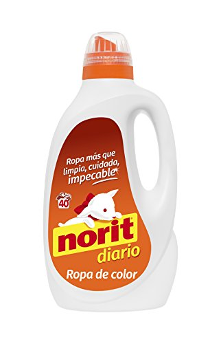 Norit Diario para Ropa de Color Detergente Líquido - 40 Lavados, 2120 ml