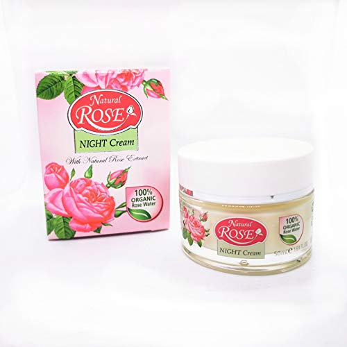 NIGHT CREAM NATURAL ROSE