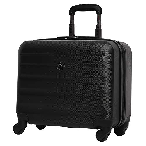 18.5in Business Rolling Briefcase Spinner Wheels Overnight Laptop Bag Mobile Office CarryOn Suitcase