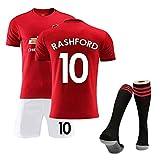 Camiseta de fútbol personalizada Kits de camisetas de fútbol Camiseta y pantalones cortos y calcetines, camiseta de fanático del uniforme de la temporada 2019-2020, uniformes de entrenamiento, unif