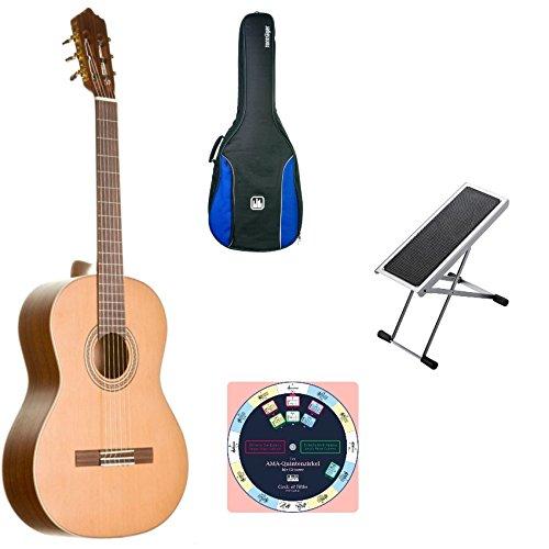 La Mancha Rubi CM incluye funda, banco de pie y quinta Compás: Amazon.es: Instrumentos musicales