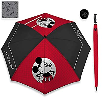 Team Effort Disney Mickey Mouse Golf 62  WindSheer Lite Umbrella Multicolor