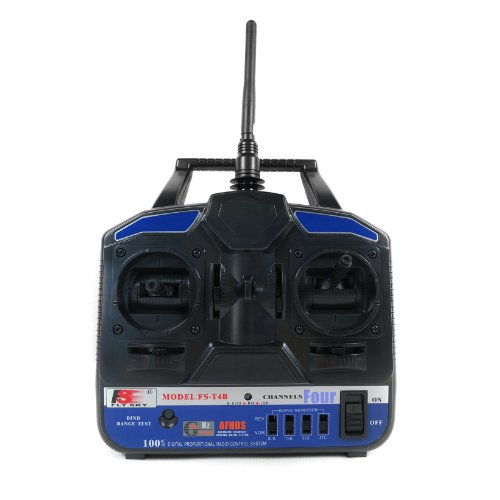 FlySky FS-T4B 2.4GHz 4 Channel Transmitter and Receiver Radio System