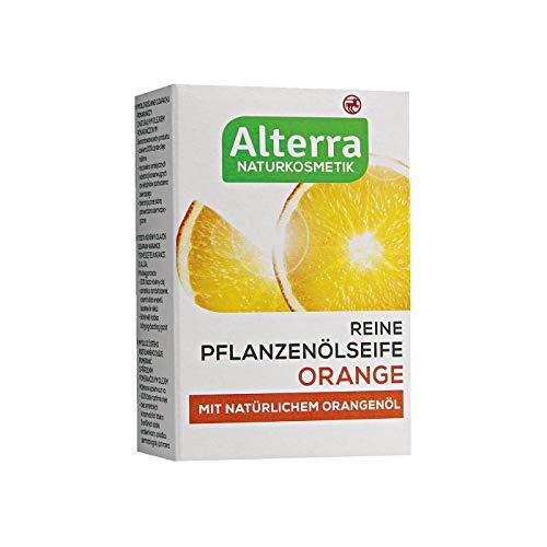 Alterra Reine Pflanzenölseife 100 g (Orange)