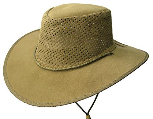 Chapeau d'été ultra léger avec bloc de chapeau perforé Kakadu Soaka - Vert - Small