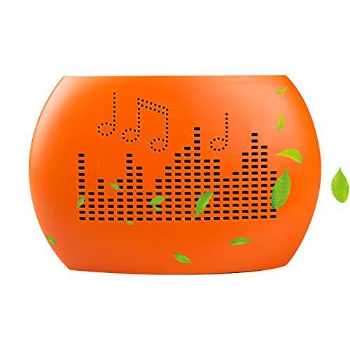 Hogar Mini Deshumidificador PortáTil Deshumidificador Recargable Deshumidificador Silencioso Dormitorio BañO Cocina Sala De Estar Armario Deshumidificador Del SóTano Blanco Naranja,Orange