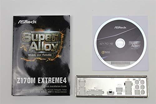 ASRock Z170M Extreme4 Handbuch - Blende - Treiber CD