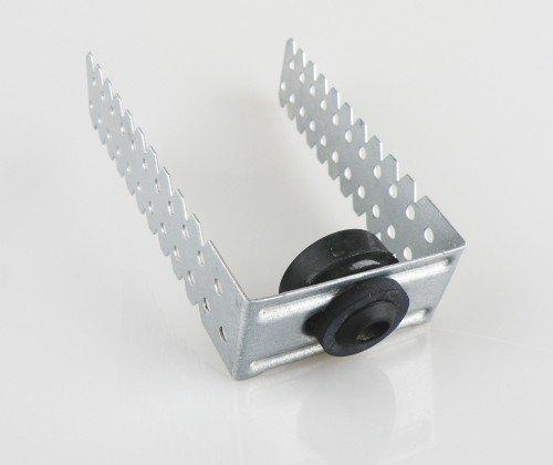Direktabhänger 120mm U-Deckenabhänger mit Dämpfung f.cd 60/27 U-Hänger Schallschutz