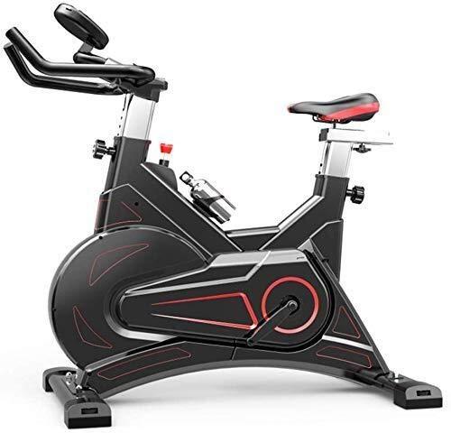 LKK-KK Bicicleta de ejercicio de ciclismo indoor,manillares ajustables Asiento Resistencia,inteligente aplicación de control electromagnético bicicleta de Exercise for uso doméstico muy silencioso cap