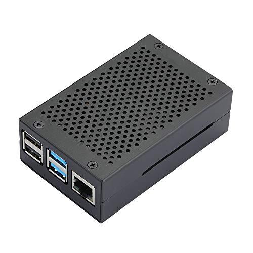 Custodia per Raspberry Pi 4 RPI 4 in alluminio RPI 4B, involucro in metallo nero per RPI 4 modello B Nero Cruz V2 Fresh Foam
