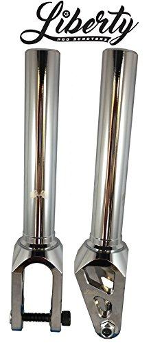 Mach 1 Liberty Threadless Aluminum Scooter Fork (Chrome)