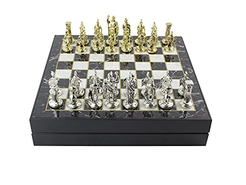 Antochia Crafts 12 Inches Chess Set - Chrome Plated...