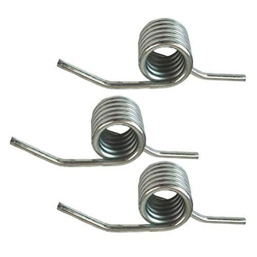 VORCOOL 3 peças de mola de torção, 3 toneladas, cabo de macaco hidráulico para assoalho de mola de retorno - Peças sobressalentes para ferramenta de elevação de carro