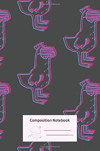 Composition Notebook: Warrens Shirt Episode 5 104 Blank Line Notebook