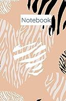 Heart Animal Print Notebook