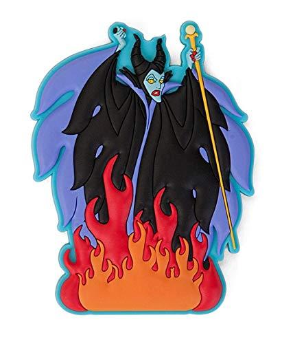 Disney Villains Burning Maleficent Soft Touch PVC Magnet, One Size, Multi Color