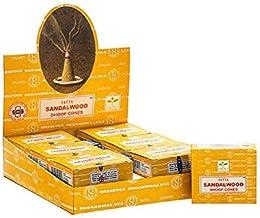Satya Sandalwood Incense Dhoops - Chandan Fragrance