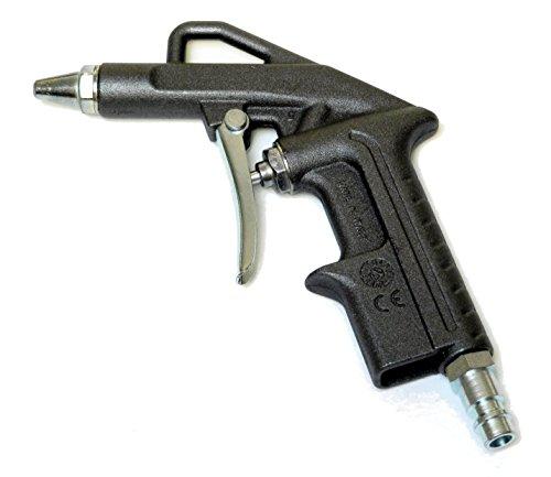 Bamax BX106A Pistola Soffiaggio Aria Compressa Made in Italy, Nero