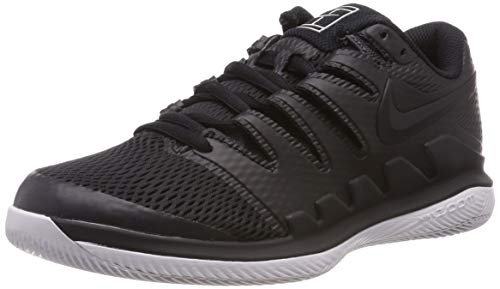 Nike Jungen Air Zoom Vapor X Hc Tennisschuhe, Mehrfarbig (Black/Black-Vast Grey-Anthracite 010), 36.5 EU