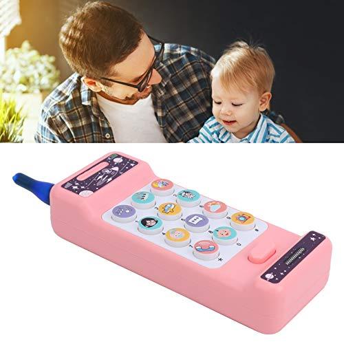 Juguetes para teléfonos móviles para niños, juguetes electrónicos para voz, educativos para niños, regalos de cumpleaños para niñas, niños a partir de 3 años(Big Brother Weierfan mobile phone)