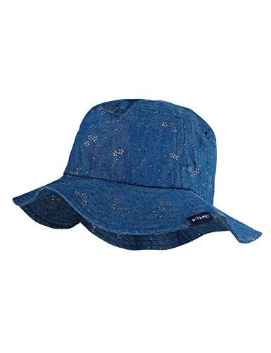 maximo Mädchen Hut Mütze, Blau (Jeans-silberblume 63), (Herstellergröße: 51)