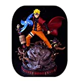 From HandMade Figura Figura de acción de Naruto Figura Uzumaki Naruto Rasengan Figura Animado...