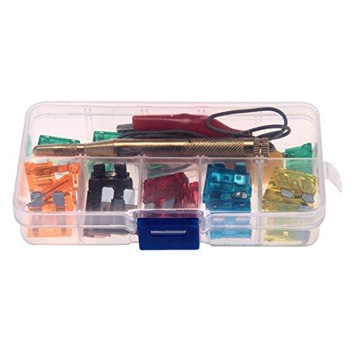Testeur de fusible fusible de 30 Classes Circuit électrique Sonde testeur Portable Auto Camion de voiture bâton de stylo