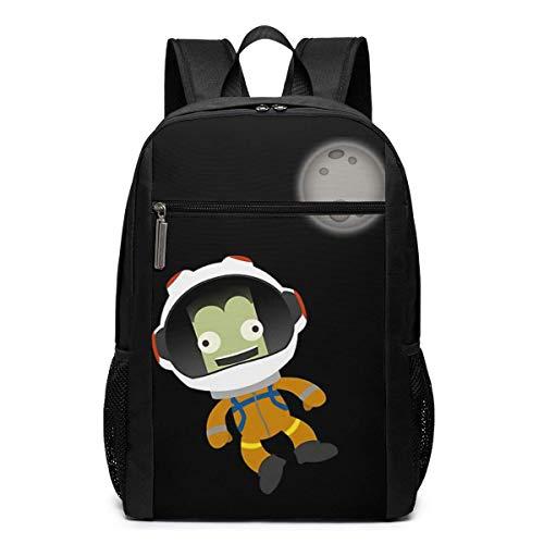 mächtig der welt Huatongxin Kerbal Space Program 17 Zoll Classic Rucksack Business Computer Bag Studententasche
