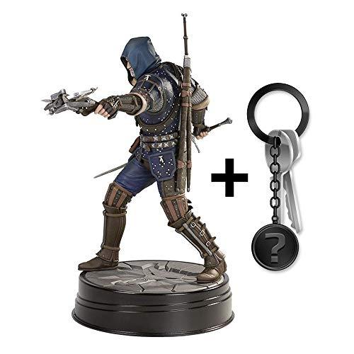yvolve The Witcher - Geralt Grandmaster Feline - Figur - Offizielles Merchandise  Set inkl. Schlüsselanhänger