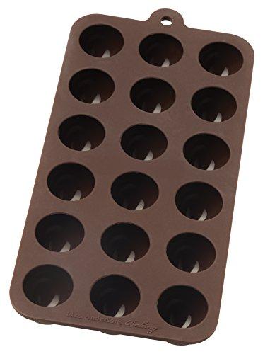 Mrs. Anderson's Baking Chocolate Mold, Truffle, European-Grade Silicone