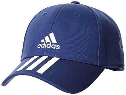 adidas Bball 3s Cap Ct Unisex-Kappe für Erwachsene Einheitsgröße Blau/Weiß/Weiß
