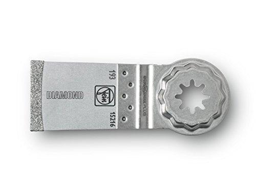 FEIN 63502193210 E-Cut Diamant-Sägeblatt, SLP Aufnahme, 50mm x 35mm, grau