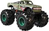 Hot Wheels Monster Trucks Milk V8 Bomber die-cast 1:24 Scale Vehicle with Giant Wheels for Kids Age 3 to 8 Years Old Great Gift Toy Trucks Large Scales