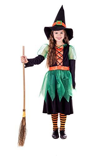 Fun Shack FNK4555L kostuum, meisjes, heks, groot