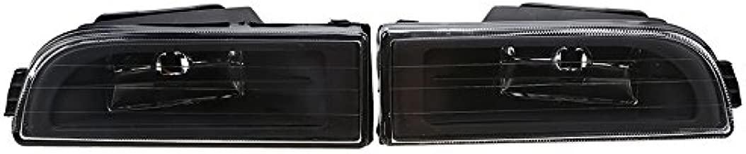 E38 Front Fog Lighs Lamps Left & Right Bumper Driving Projector Fog Light For BMW E38 1995-2001