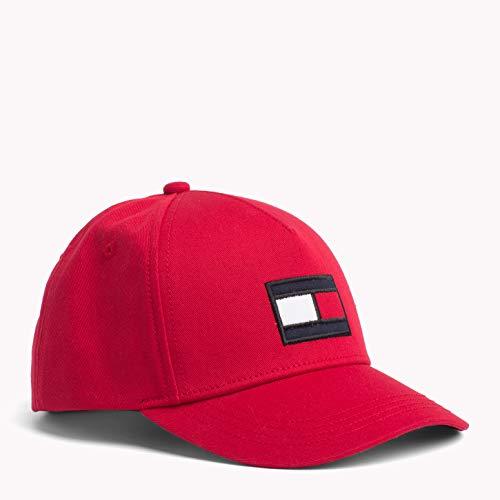 Tommy Hilfiger Big Flag Cap, Gorra Bebé-Niños, Rojo (Apple Red 664), Small...
