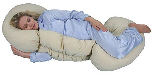 Leachco Grow To Sleep Self-Adjusting Body Pillow - Tea