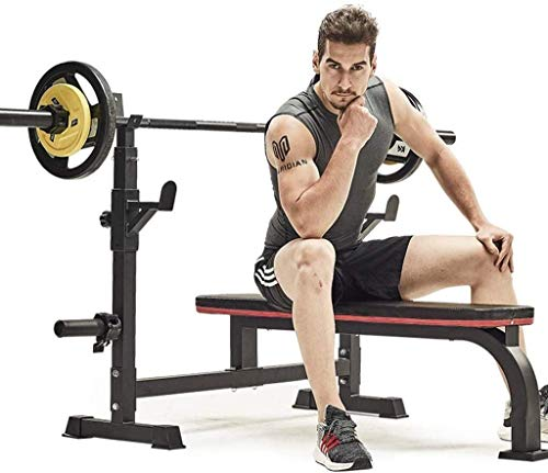 Adjustable Benches Squat Rack ht Table Bench Press Frame Home Multifunctional Squat Rack Fitness Equipment Benches