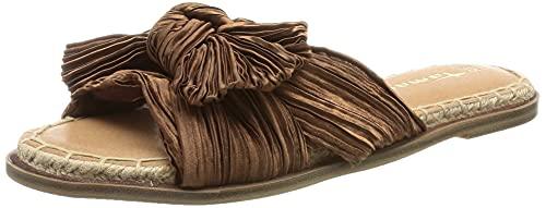 Tamaris 1-1-27132-36, Sandale Femme, Chocolat, 38 EU