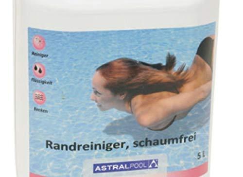 Randreiniger schaumfrei 5 Liter Kanister Pool Reiniger Schwimmbad Reinigung alkalisch