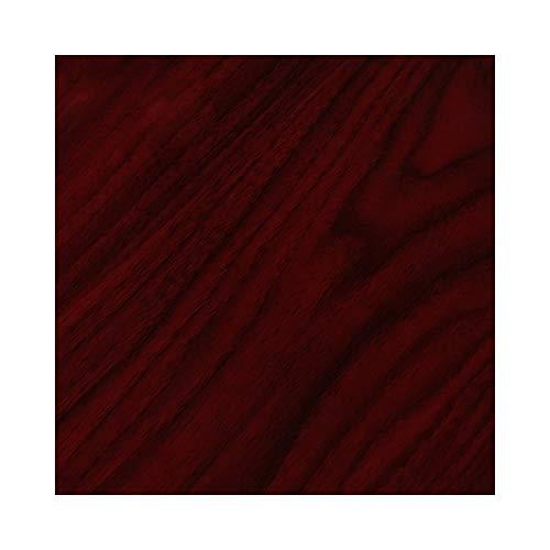 Neoxxim 22,43/m² Klebefolie Holzdekor - Mahagoni dunkel (30) - 30 x 122 cm -Deko Möbelfolie selbstklebend Größe Farbe wählbar
