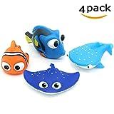 ALLCELE Baby Badespielzeug, Finden Dory Nemo Spritzen Spielzeug für Baby & Kleinkind Spielzeug...