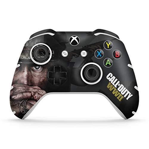 Skin Adesivo para Xbox One Slim X Controle - Call Of Duty Ww2